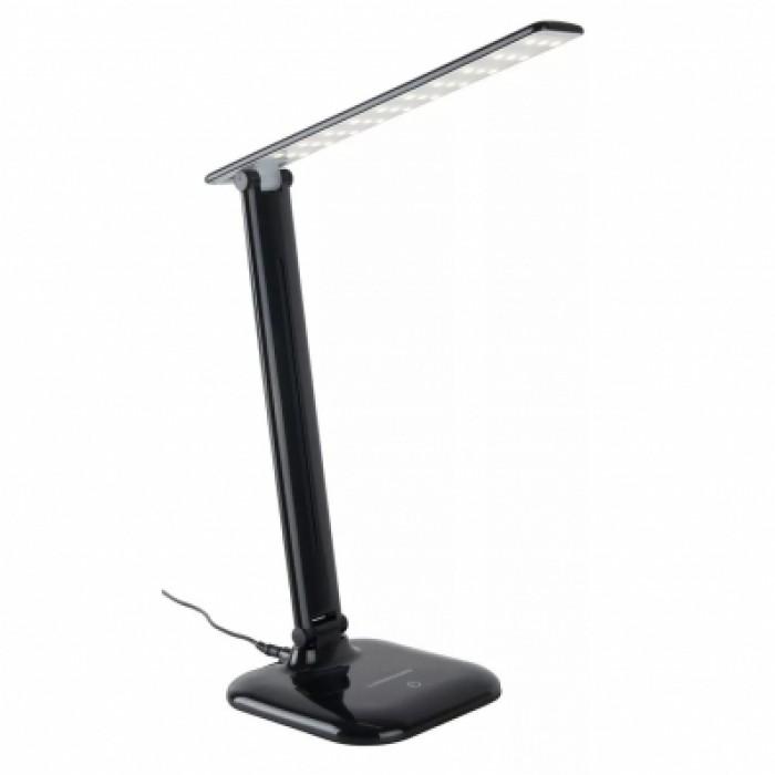1Светодиодная настольная лампа Alcor Электростандарт черного цвета