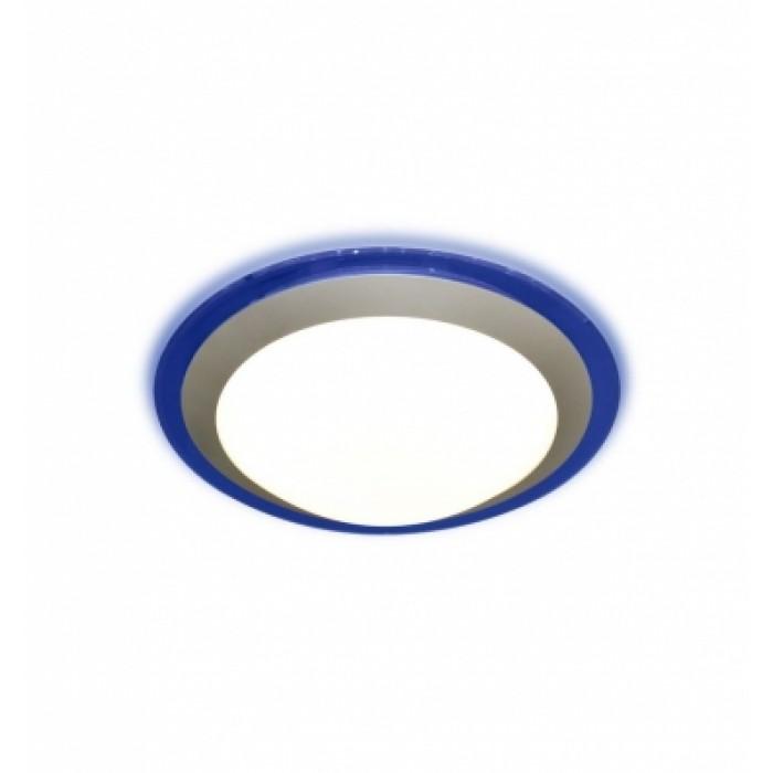 1Настенно-потолочный светодиодный светильник ALR-16-Blue круглой формы