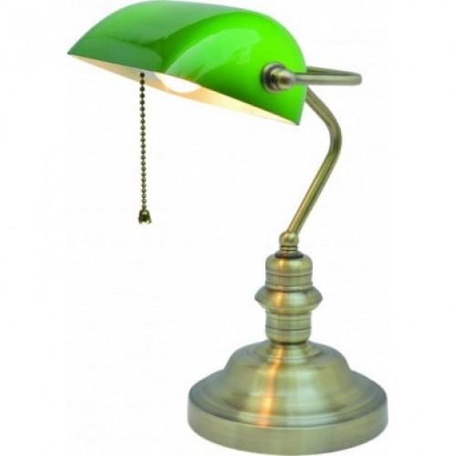 A2492LT-1AB Banker ARTE LAMP Настольная лампа