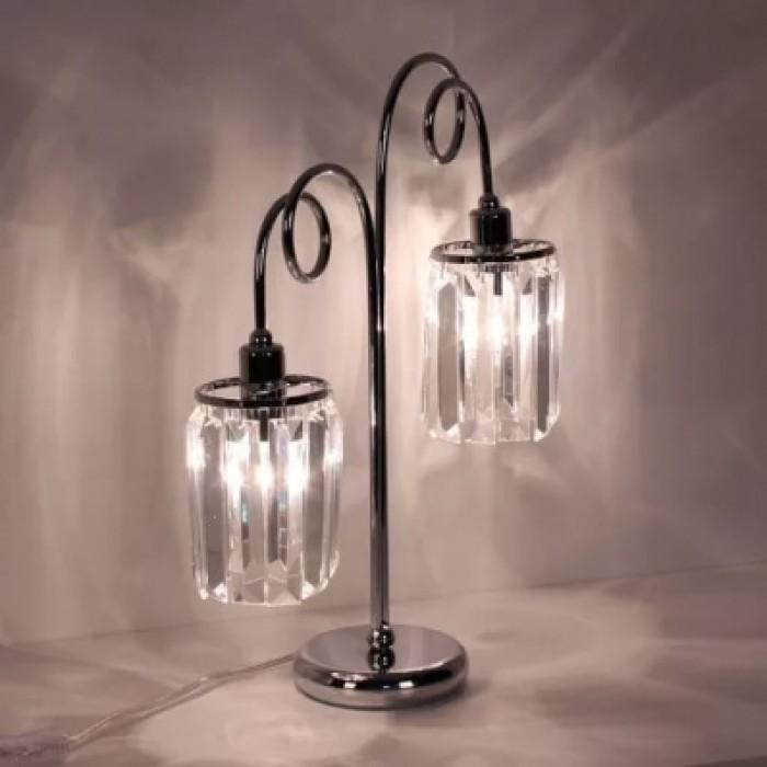 1Декоративная настольная лампа с хрустальными подвесками CL330821 Citilux