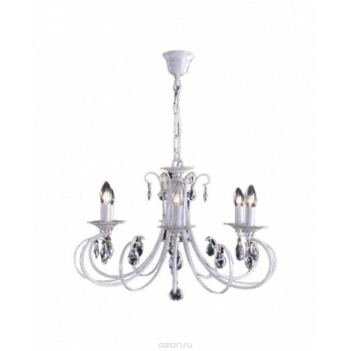 1Классическая подвесная люстра Citilux Джесси CL410162 белый + Золото