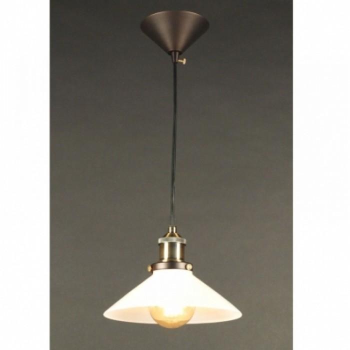 1Подвесной одиночный светильник в стиле лофт CL450102