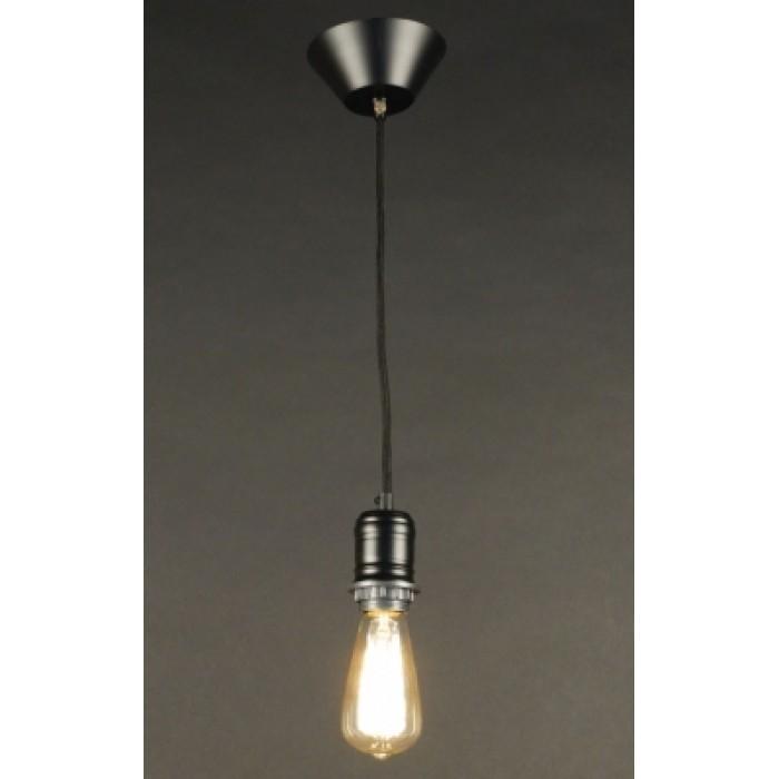 1Подвесной одиночный светильник в стиле Loft CL450200 Эдисон Citilux