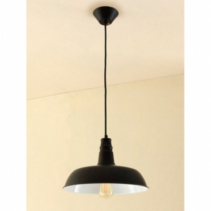 1Подвесной одиночный светильник в стиле лофт CL450205