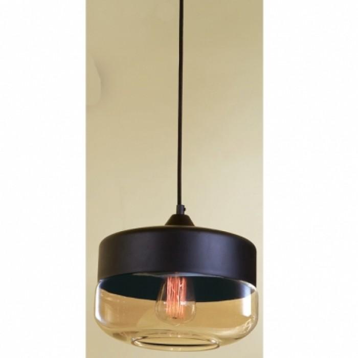 1Подвесной одиночный светильник в стиле лофт CL450208