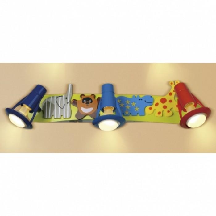 1Настенно-потолочный светильник детский CL602531 прямоугольной формы