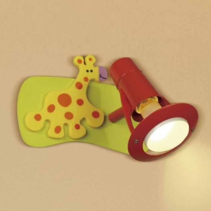 1Настенно-потолочный светильник детский CL602511 прямоугольной формы