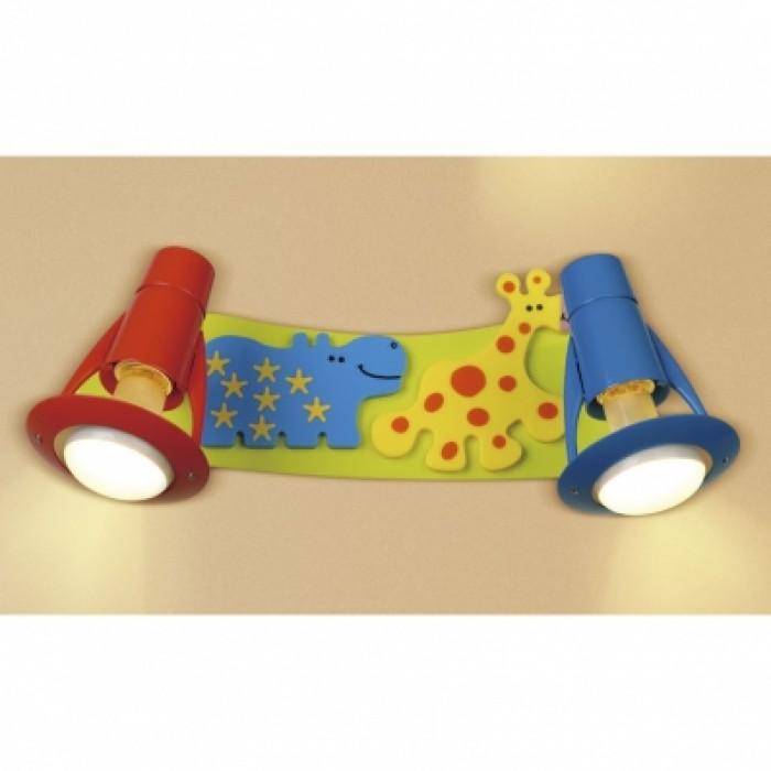 1Настенно-потолочный светильник детский CL602521 прямоугольной формы