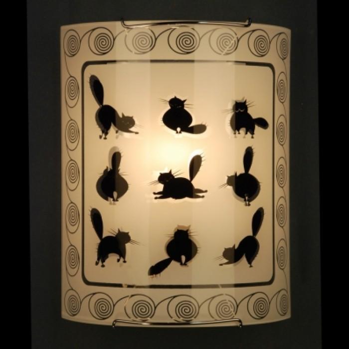 1Настенно-потолочный светильник КОТЫ CL921023 прямоугольной формы