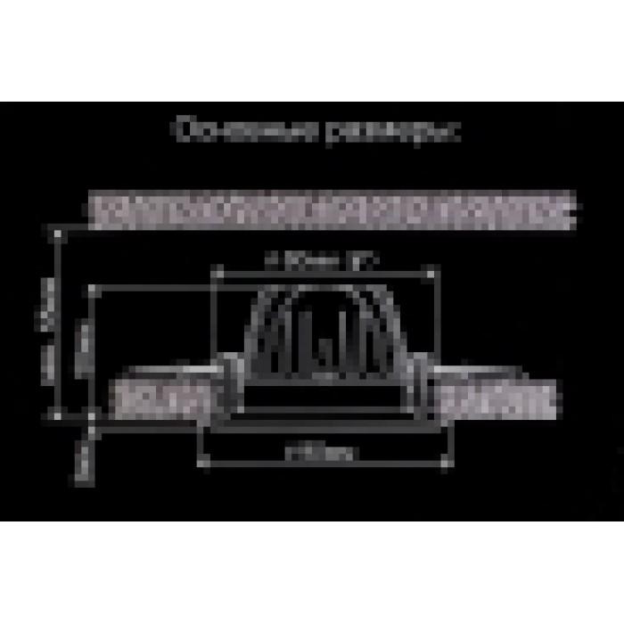 2Встраиваемый светодиодный светильник CLD001W1