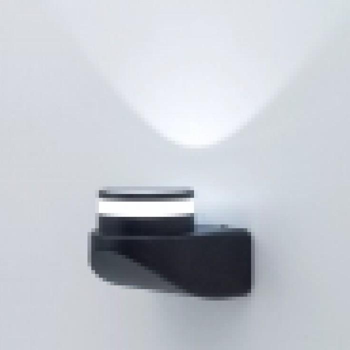 2Уличный настенный светильник светодиодный Citilux CLU0004 черный