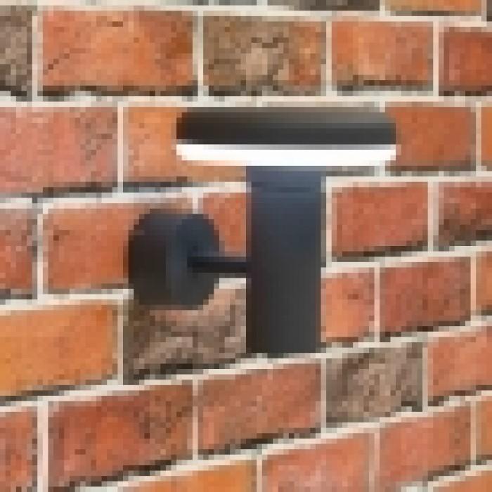 2Уличный настенный светильник Citilux CLU01W черный
