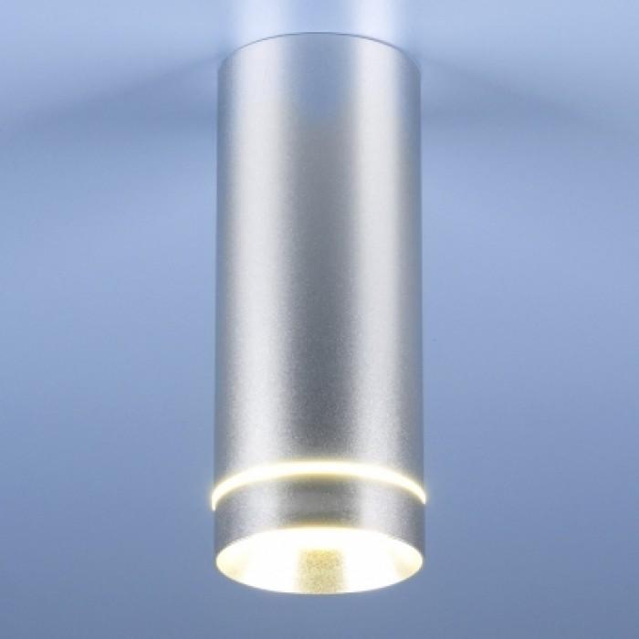 1Потолочный светильник DLR022 12W 4200K хром матовый