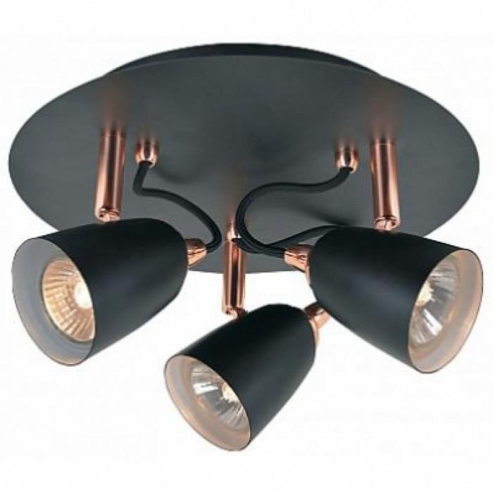 1Спот светильники поворотные LSP-9853 Loft черный/медный