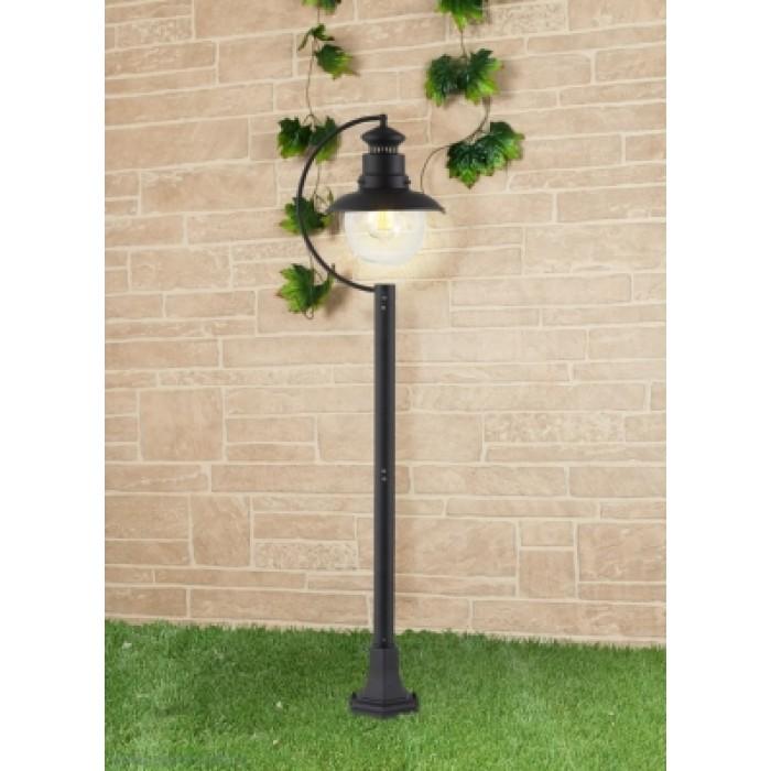 1Уличный наземный светильник-столбик Talli F черный