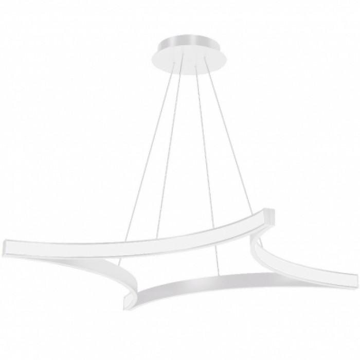 1Подвесная светодиодная люстра TLR01-70-01 белая 4000К Лючера