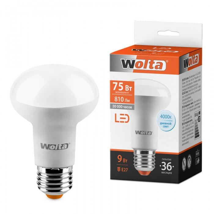 1Светодиодная лампа Wolta 25S63R9E27 4000K