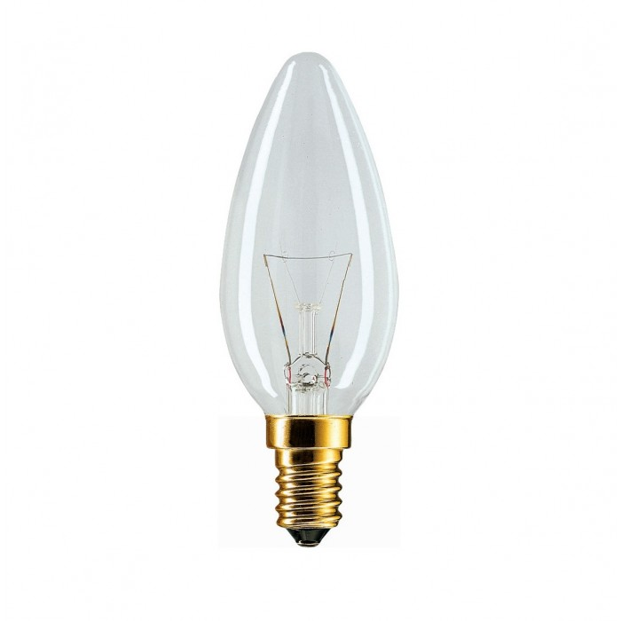 1Лампа Stan 40W E14 230V B35 CL PHILIPS