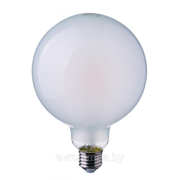 1Филаментная лампа V-TAC 7 ВТ, 800LM, G125, матовое стекло, Е27, 2700К