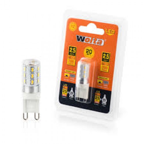 Светодиодная лампа G9 WOLTA 25YJCD-230-2.5G9