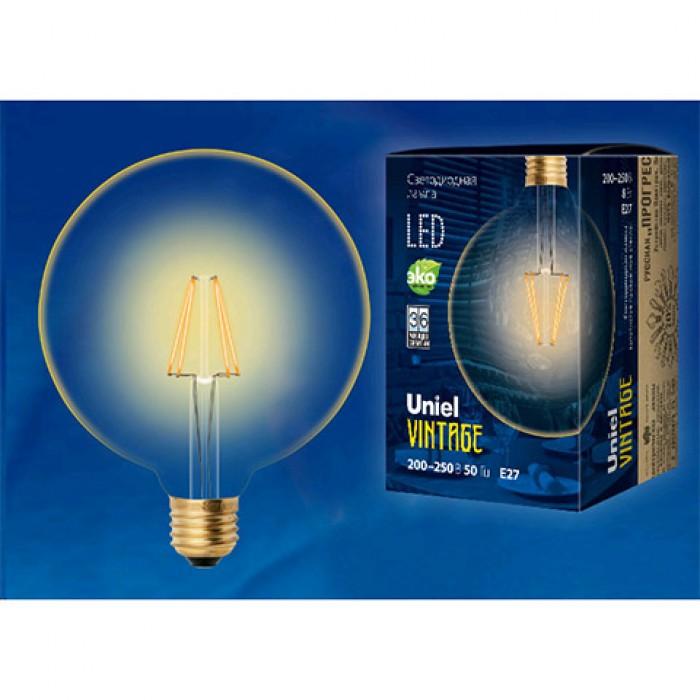 1Филаментная лампа LED-G125-8W/GOLDEN/E27 GLV21GO