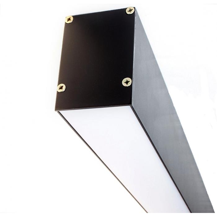 1Светодиодный светильник из профиля LS.5070 черный