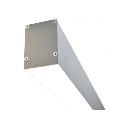 Светодиодный светильник из профиля LS.5070 серебряный
