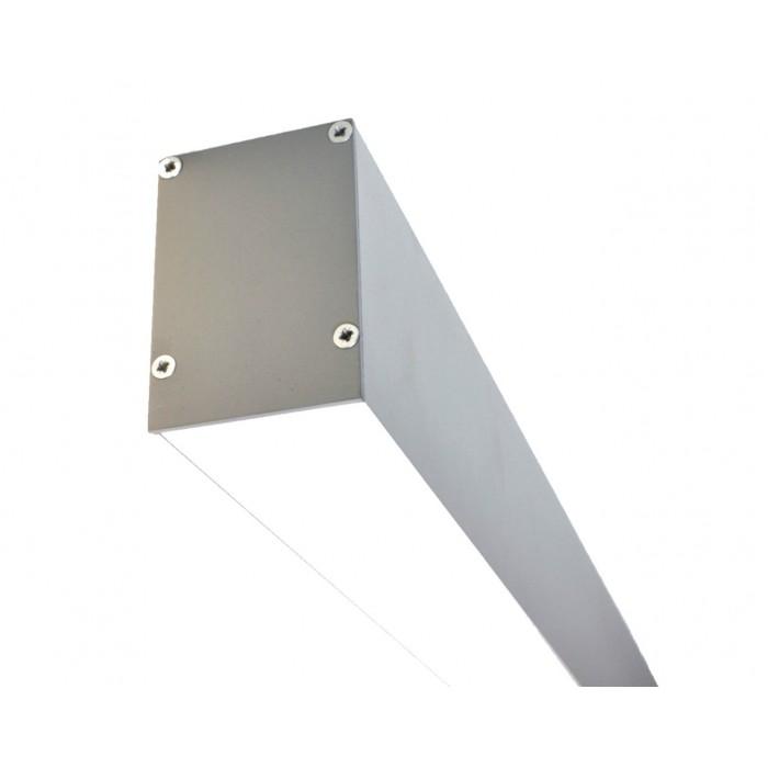 1Светодиодный светильник из профиля LS.5070 серебряный