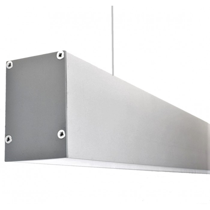 2Светодиодный светильник из профиля LS.5070 серебряный
