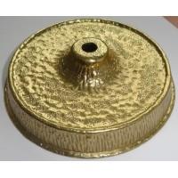 Потолочная чашка, латунь, цвет золото