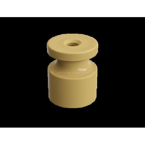 """GE30025-32 Изолятор универсальный пластиковый, цвет - песочное золото. Серия """"Усадьба"""""""