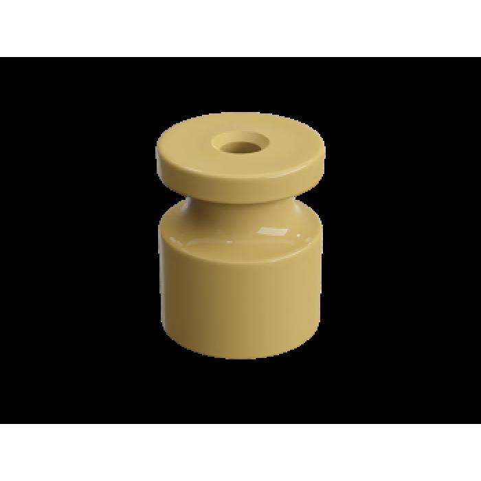 1 GE30025-32 Изолятор универсальный пластиковый песочное золото