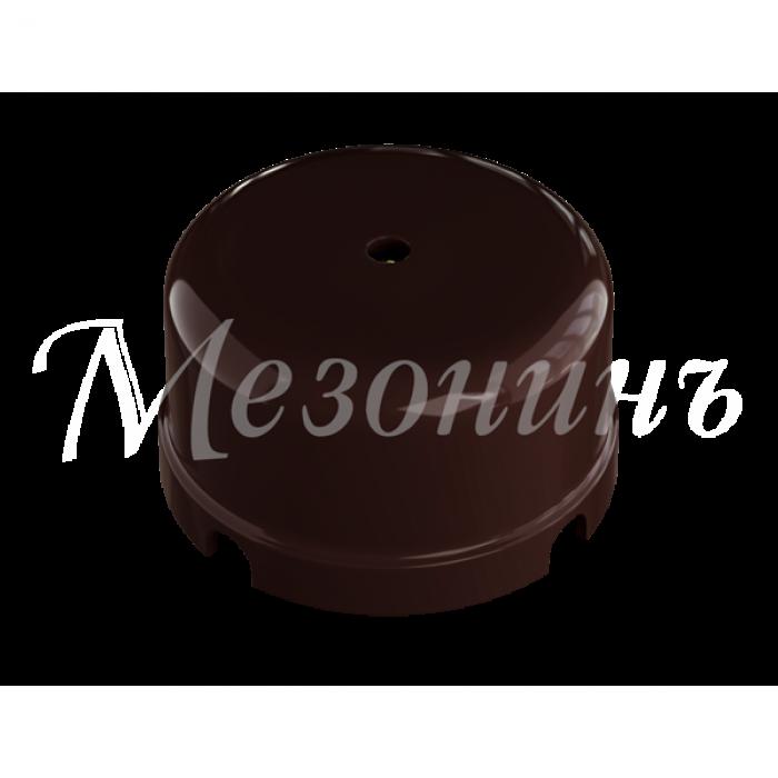 1GE30236-04 Коробка распределительная пластиковая КОРИЧНЕВАЯ