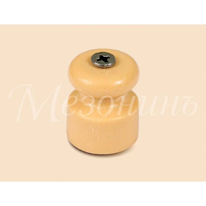 1 GE70017-32 Изолятор универсальный пластиковый песочное золото