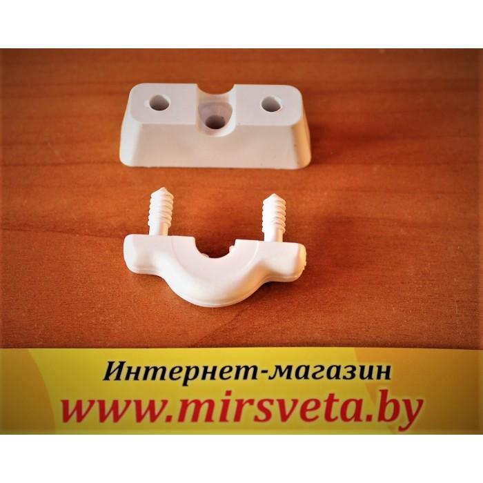 1Крепеж круглого провода LOFT-1 белый