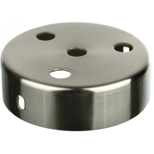Основание подвеса, 1+3 отверстия, сталь, никель