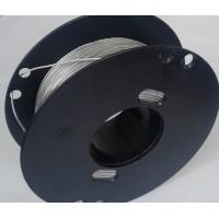 Провод круглый 1х0.50 mm прозрачный 180С.