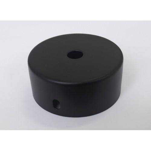 Основание подвеса, 1 отверстие, цвет черный, d=60мм