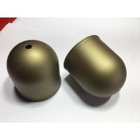 027248 Потолочная чашка золотая d 68 h 72