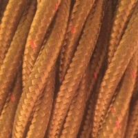 Провод ретро 2x1,5 бронзовый Salcavi Италия