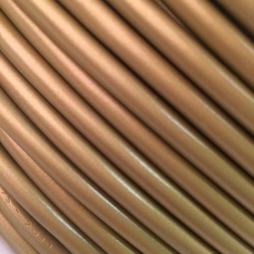 Провод круглый ПВХ 2х0,75мм2 золотой Salcavi (Италия) H03VV-F02X0.75OR