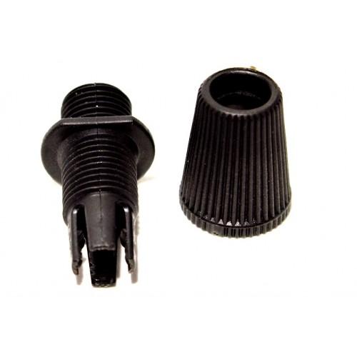 Steab Кабельный зажим 5915/26 черный комплект