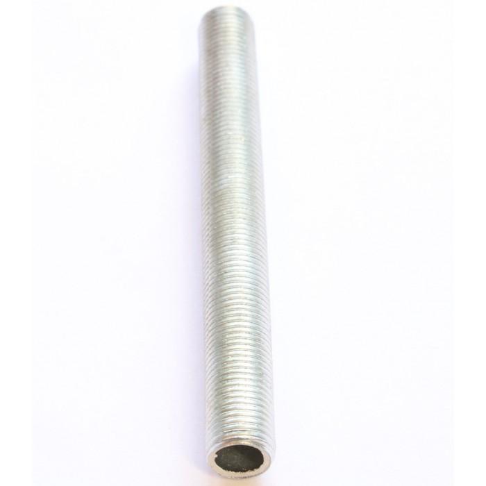 1Трубка сталь оцинкованная с резьбой M10 x1 L=1000mm