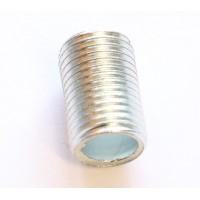 Трубка сталь оцинкованная с резьбой M10 x1 L=20mm TIZ020