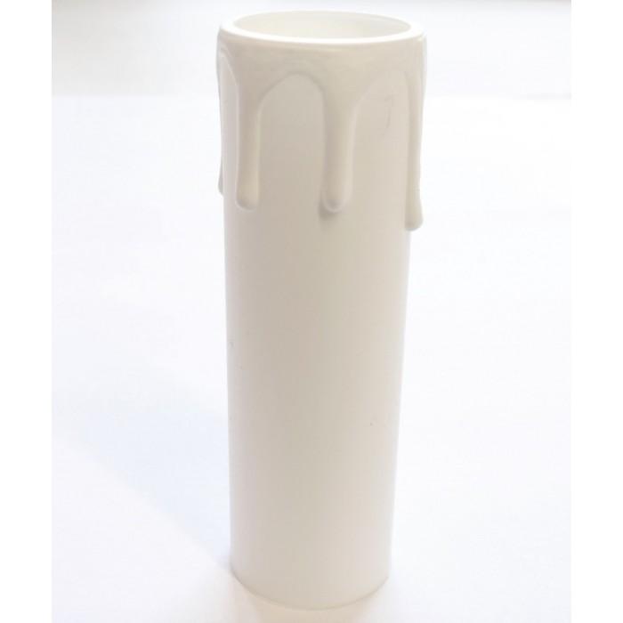 """2Arditi Стакан """"оплывшая свеча"""" h=85мм белый"""