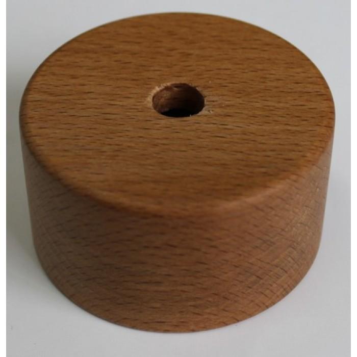 10433 Плафонодержатель H=45 мм, бук, цвет прозрачный лак