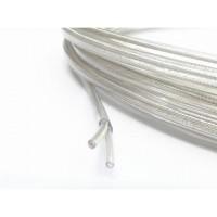Провод плоский ПВХ 2х0,5мм2 прозрачный Salcavi(Италия)
