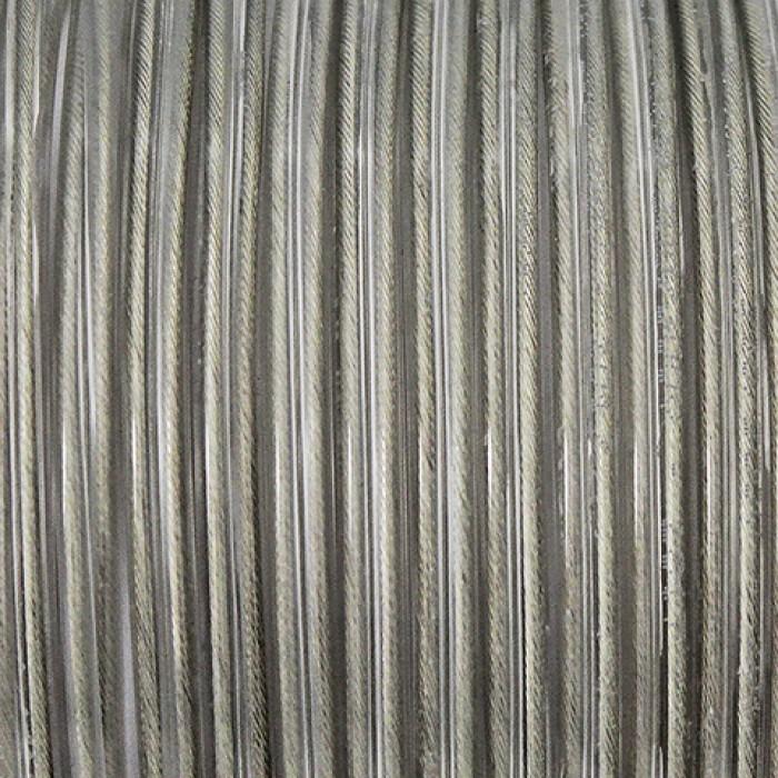 2Провод круглый ПВХ 3*0,75 прозрачный Salcavi(Италия)