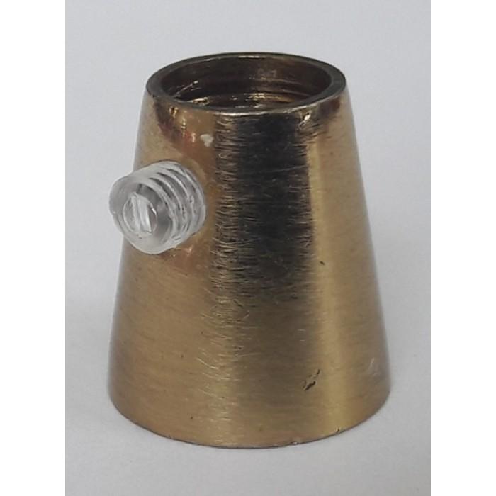 1Держатель провода L=15мм, М10х1, цвет патина, артикул FN15 PA