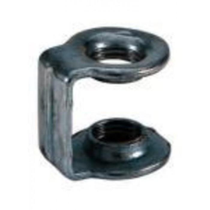 1PComponents Узел стыковочный D=M10x1xM10x1 оцинк. сталь